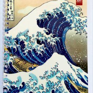 Скечбук з японською гравюрою