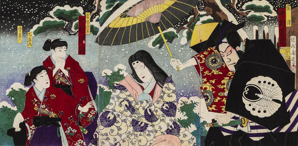 ТІКАНОБУ Тойохара (1838 – 1912) – Токіва Ґодзен – взірець материнської любові. 1889